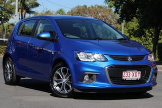 2017 Holden Barina TM MY18 LS Blue 5 Speed Manual Hatchback.