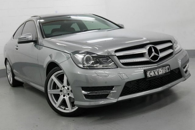 Used Mercedes-Benz C250 C204 Avantgarde 7G-Tronic +, 2015 Mercedes-Benz C250 C204 Avantgarde 7G-Tronic + Silver 7 Speed Sports Automatic Coupe