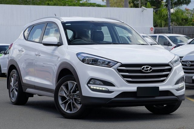 New Hyundai Tucson TL MY18 Active X 2WD, 2018 Hyundai Tucson TL MY18 Active X 2WD Pure White 6 Speed Sports Automatic Wagon