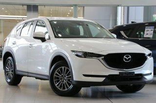 2018 Mazda CX-5 KF4WLA Maxx SKYACTIV-Drive i-ACTIV AWD Sport Snowflake White 6 Speed.