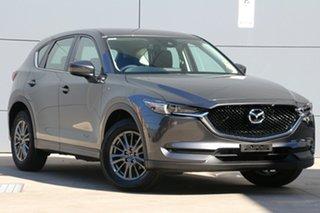2018 Mazda CX-5 KF2W7A Maxx SKYACTIV-Drive FWD Sport Machine Grey 6 Speed Sports Automatic Wagon.