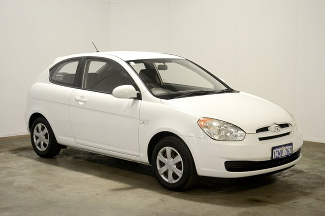 Used Hyundai Accent LC MY04 GL, 2006 Hyundai Accent LC MY04 GL Noble White 5 Speed Manual Hatchback