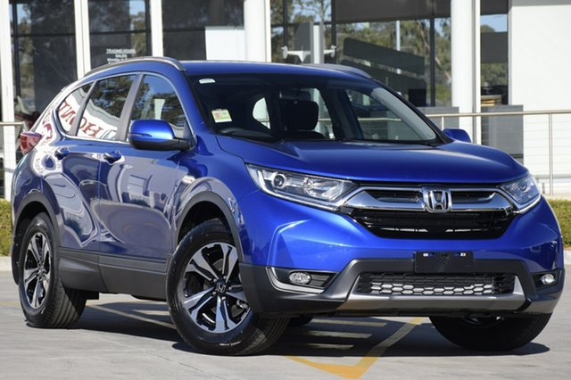 New Honda CR-V RW MY20 VTi FWD, 2019 Honda CR-V RW MY20 VTi FWD Blue 1 Speed Constant Variable Wagon