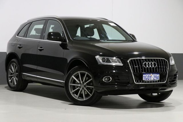 Used Audi Q5 8R MY15 2.0 TDI Quattro, 2015 Audi Q5 8R MY15 2.0 TDI Quattro Black 7 Speed Auto Dual Clutch Wagon