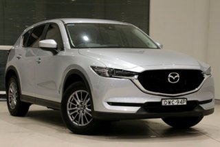 2018 Mazda CX-5 KF4WLA Touring SKYACTIV-Drive i-ACTIV AWD Sonic Silver 6 Speed Sports Automatic.