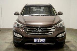 2013 Hyundai Santa Fe DM MY13 Highlander Arabian Mocha 6 Speed Sports Automatic Wagon