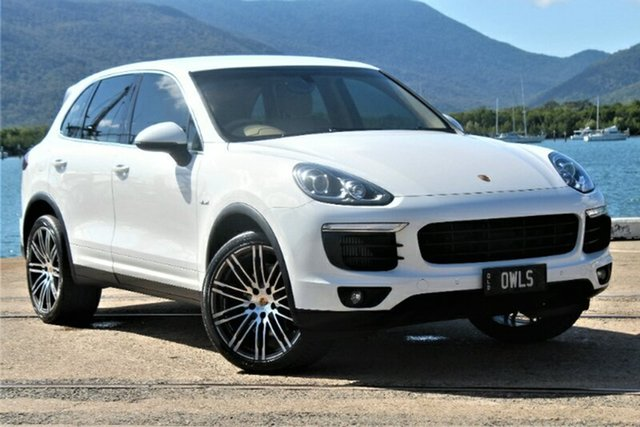 Used Porsche Cayenne 92A MY16 Diesel Tiptronic, 2016 Porsche Cayenne 92A MY16 Diesel Tiptronic White 8 Speed Sports Automatic Wagon