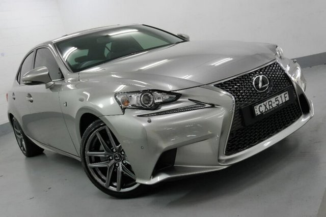 Used Lexus IS250 GSE30R F Sport, 2014 Lexus IS250 GSE30R F Sport Grey 6 Speed Sports Automatic Sedan