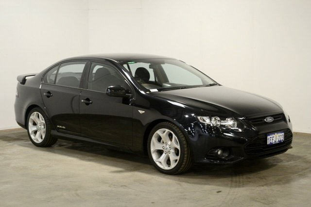 Used Ford Falcon FG MkII XR6, 2012 Ford Falcon FG MkII XR6 Black 6 Speed Sports Automatic Sedan