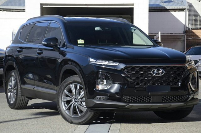 New Hyundai Santa Fe TM MY19 Elite, 2018 Hyundai Santa Fe TM MY19 Elite Phantom Black 8 Speed Sports Automatic Wagon