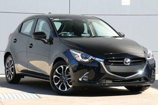 2018 Mazda 2 DJ2HAA Genki SKYACTIV-Drive Jet Black 6 Speed Sports Automatic Hatchback.