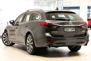 2018 Mazda 6 GL1032 Atenza SKYACTIV-Drive Machine Grey 6 Speed Sports Automatic Wagon.