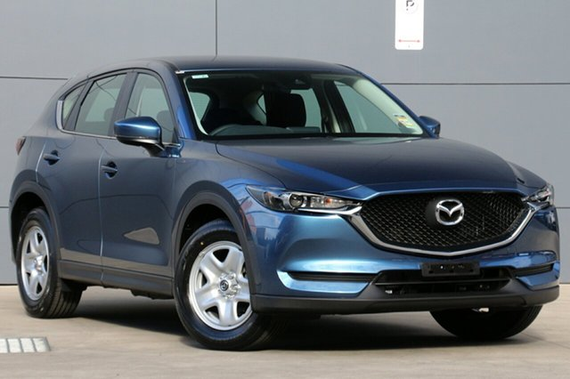 New Mazda CX-5 KF2W76 Maxx SKYACTIV-MT FWD, 2018 Mazda CX-5 KF2W76 Maxx SKYACTIV-MT FWD Eternal Blue 6 Speed Manual Wagon