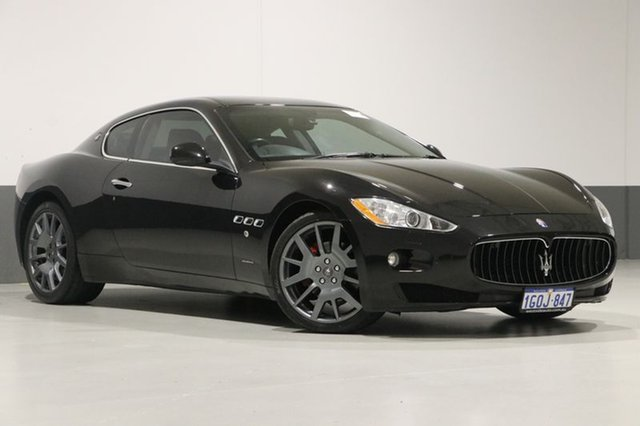 Used Maserati Granturismo  , 2010 Maserati Granturismo Black 6 Speed Sequential Manual Coupe