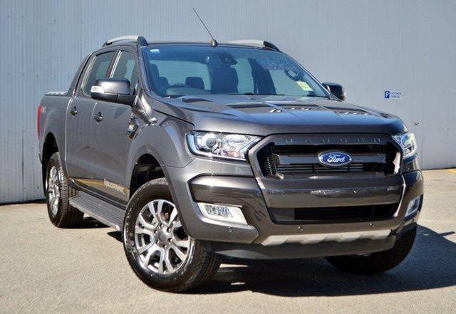 New Ford Ranger PX MkII MY18 Wildtrak Double Cab, 2018 Ford Ranger PX MkII MY18 Wildtrak Double Cab Magnetic 6 Speed Sports Automatic Utility