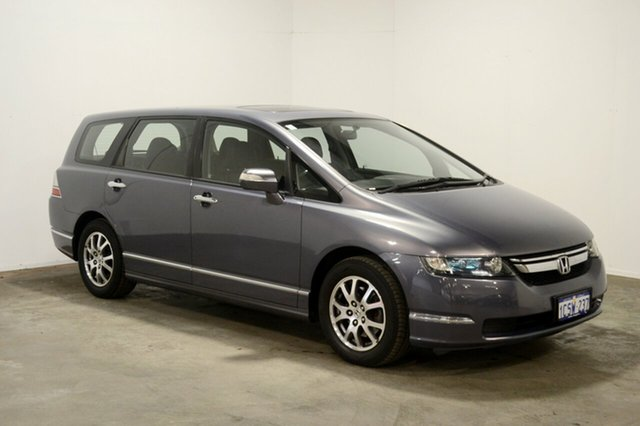 Used Honda Odyssey 3rd Gen MY07 Luxury, 2007 Honda Odyssey 3rd Gen MY07 Luxury Grey 5 Speed Sports Automatic Wagon