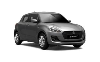 2018 Suzuki Swift AZ GL Navigator Safety Pack Premium Silver 1 Speed Constant Variable Hatchback.