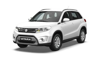 2018 Suzuki Vitara LY GL+ 2WD Pearl White 6 Speed Sports Automatic Wagon