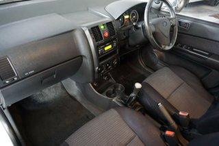 2006 Hyundai Getz TB MY06 White 5 Speed Manual Hatchback