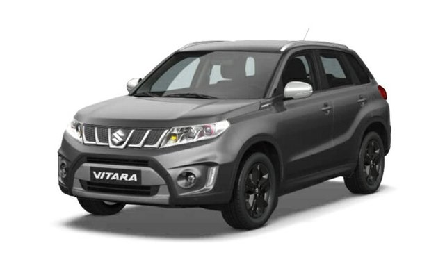 Demo Suzuki Vitara LY S Turbo 2WD, 2018 Suzuki Vitara LY S Turbo 2WD Grey & Black 6 Speed Sports Automatic Wagon