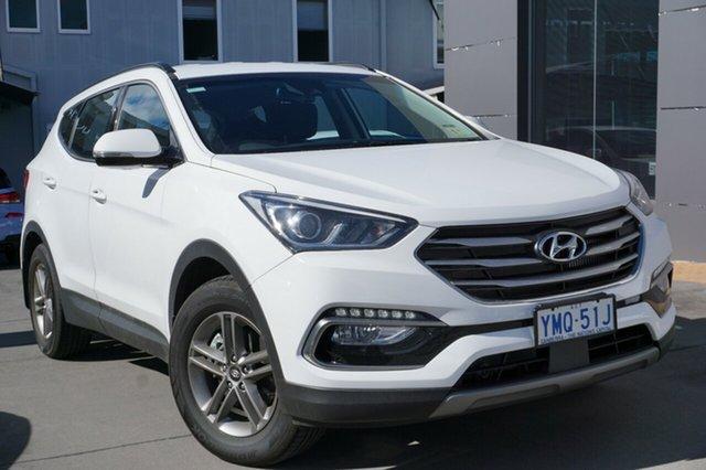 Demo Hyundai Santa Fe DM5 MY18 Active, 2018 Hyundai Santa Fe DM5 MY18 Active Pure White 6 Speed Sports Automatic Wagon