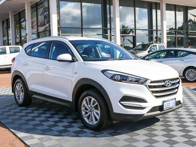 Used Hyundai Tucson TLE Active 2WD, 2016 Hyundai Tucson TLE Active 2WD White 6 Speed Sports Automatic Wagon