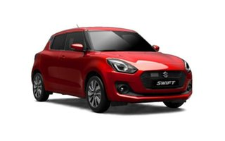 2018 Suzuki Swift AZ GL Burning Red 1 Speed Constant Variable Hatchback.