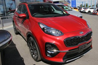 2018 Kia Sportage QL MY19 GT-Line AWD Fiery Red 6 Speed Sports Automatic Wagon.