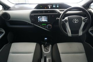 2014 Toyota Prius c NHP10R E-CVT White 1 Speed Constant Variable Hatchback Hybrid