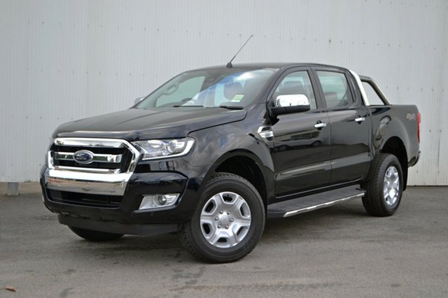 New Ford Ranger PX MkII MY18 XLT Double Cab, 2018 Ford Ranger PX MkII MY18 XLT Double Cab Shadow Black 6 Speed Sports Automatic Utility