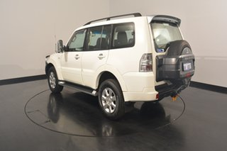 2013 Mitsubishi Pajero NW MY13 GLX-R White 5 Speed Sports Automatic Wagon.