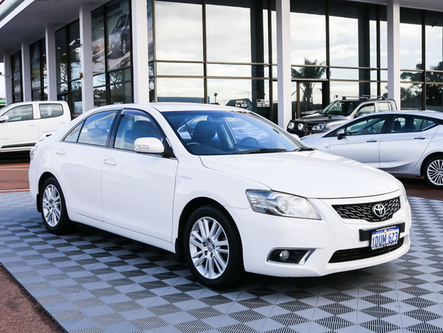 Used Toyota Aurion GSV40R MY10 AT-X, 2011 Toyota Aurion GSV40R MY10 AT-X White 6 Speed Sports Automatic Sedan