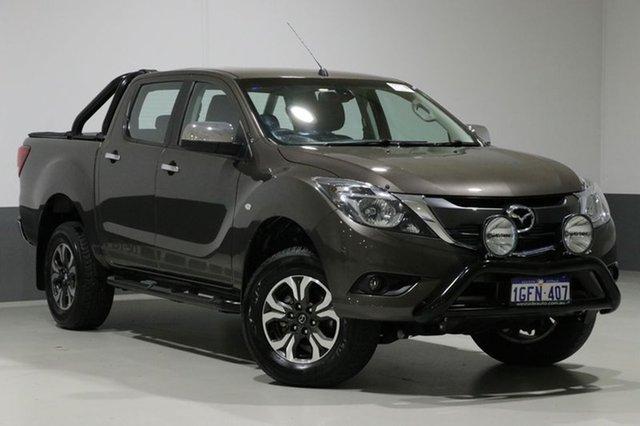 Used Mazda BT-50 MY17 Update XTR (4x4), 2017 Mazda BT-50 MY17 Update XTR (4x4) Brown 6 Speed Automatic Dual Cab Utility