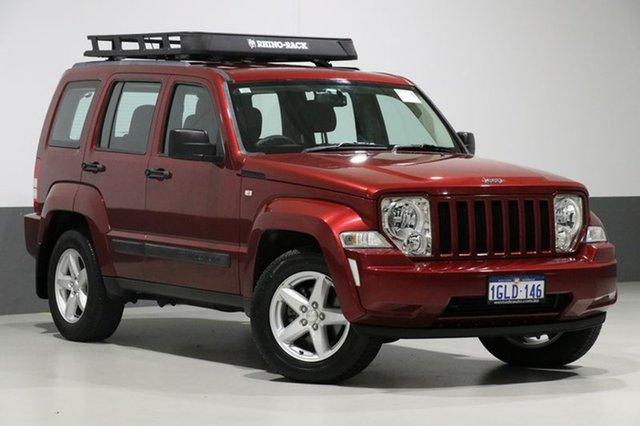 Used Jeep Cherokee KK MY12 Sport (4x2), 2012 Jeep Cherokee KK MY12 Sport (4x2) Red 4 Speed Automatic Wagon