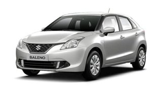 2017 Suzuki Baleno EW GL Arctic White 5 Speed Manual Hatchback.
