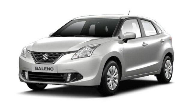 New Suzuki Baleno EW GL, 2017 Suzuki Baleno EW GL Arctic White 5 Speed Manual Hatchback