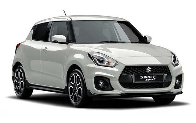 Demo Suzuki Swift AZ Sport, 2018 Suzuki Swift AZ Sport Pure White Pearl 6 Speed Manual Hatchback