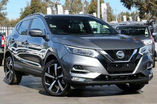 2018 Nissan Qashqai J11 Series 2 Ti X-tronic Gun Metallic 1 Speed Constant Variable Wagon