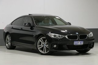 2014 BMW 435i F36 Gran Coupe M Sport Black 8 Speed Automatic Coupe.