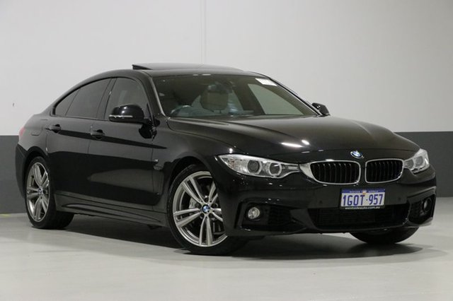 Used BMW 435i F36 Gran Coupe M Sport, 2014 BMW 435i F36 Gran Coupe M Sport Black 8 Speed Automatic Coupe
