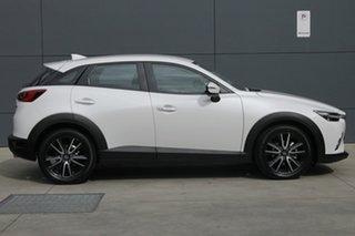 2018 Mazda CX-3 DK4W7A sTouring SKYACTIV-Drive i-ACTIV AWD Snowflake White 6 Speed Sports Automatic