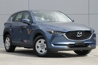 2018 Mazda CX-5 KF2W7A Maxx SKYACTIV-Drive FWD Eternal Blue 6 Speed Sports Automatic Wagon.