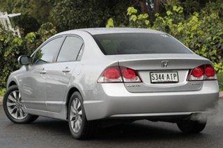 2010 Honda Civic 8th Gen MY10 VTi-L Alabaster Silver 5 Speed Automatic Sedan.