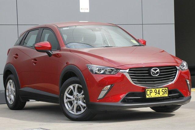 Demo Mazda CX-3 DK2W7A Maxx SKYACTIV-Drive, 2018 Mazda CX-3 DK2W7A Maxx SKYACTIV-Drive Soul Red 6 Speed Sports Automatic Wagon