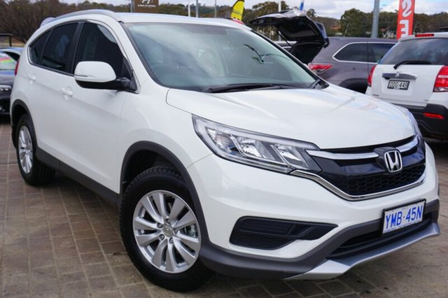 Used Honda CR-V RM Series II MY17 VTi, 2017 Honda CR-V RM Series II MY17 VTi White 5 Speed Automatic Wagon