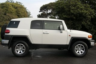 2015 Toyota FJ Cruiser GSJ15R MY14 White 5 Speed Automatic Wagon
