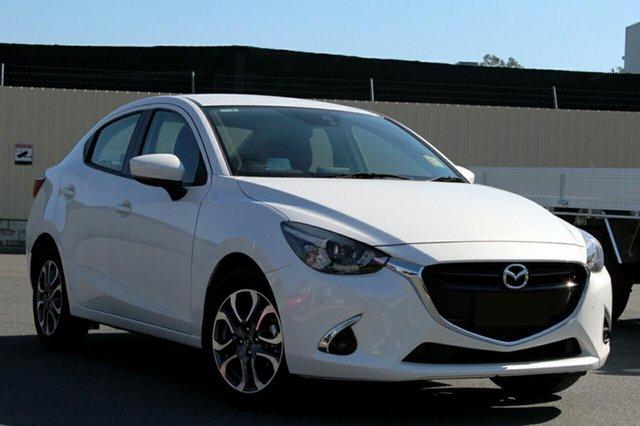 New Mazda 2 DL2SA6 GT SKYACTIV-MT, 2019 Mazda 2 DL2SA6 GT SKYACTIV-MT White 6 Speed Manual Sedan