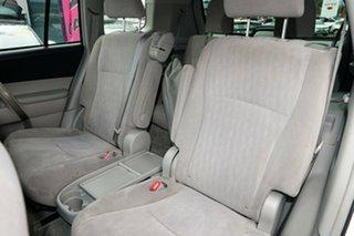 2009 Toyota Kluger GSU40R KX-R 2WD Silver 5 Speed Sports Automatic Wagon
