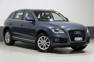 2016 Audi Q5 8R MY17 TDI S Tronic Quattro Utopia Blue 7 Speed Sports Automatic Dual Clutch Wagon.