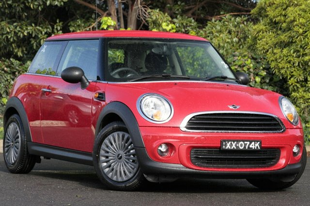 Used Mini Hatch R56 LCI Ray Steptronic, 2012 Mini Hatch R56 LCI Ray Steptronic Chilli Red 6 Speed Sports Automatic Hatchback